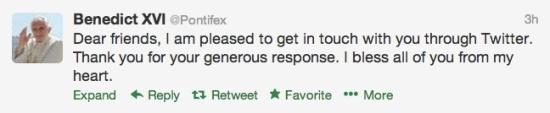 Benedict Tweets