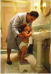 fathersonbathroom