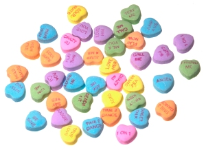 On Conversation Hearts