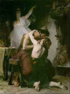 Odysseus and Telemachus Reunited. Henri Lucien Doucet, 1880.