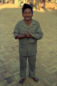Gentleman in Durbar Square, Nepal